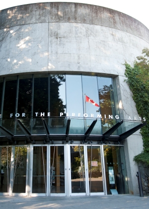 加拿大溫哥華,UBC表演藝術中心