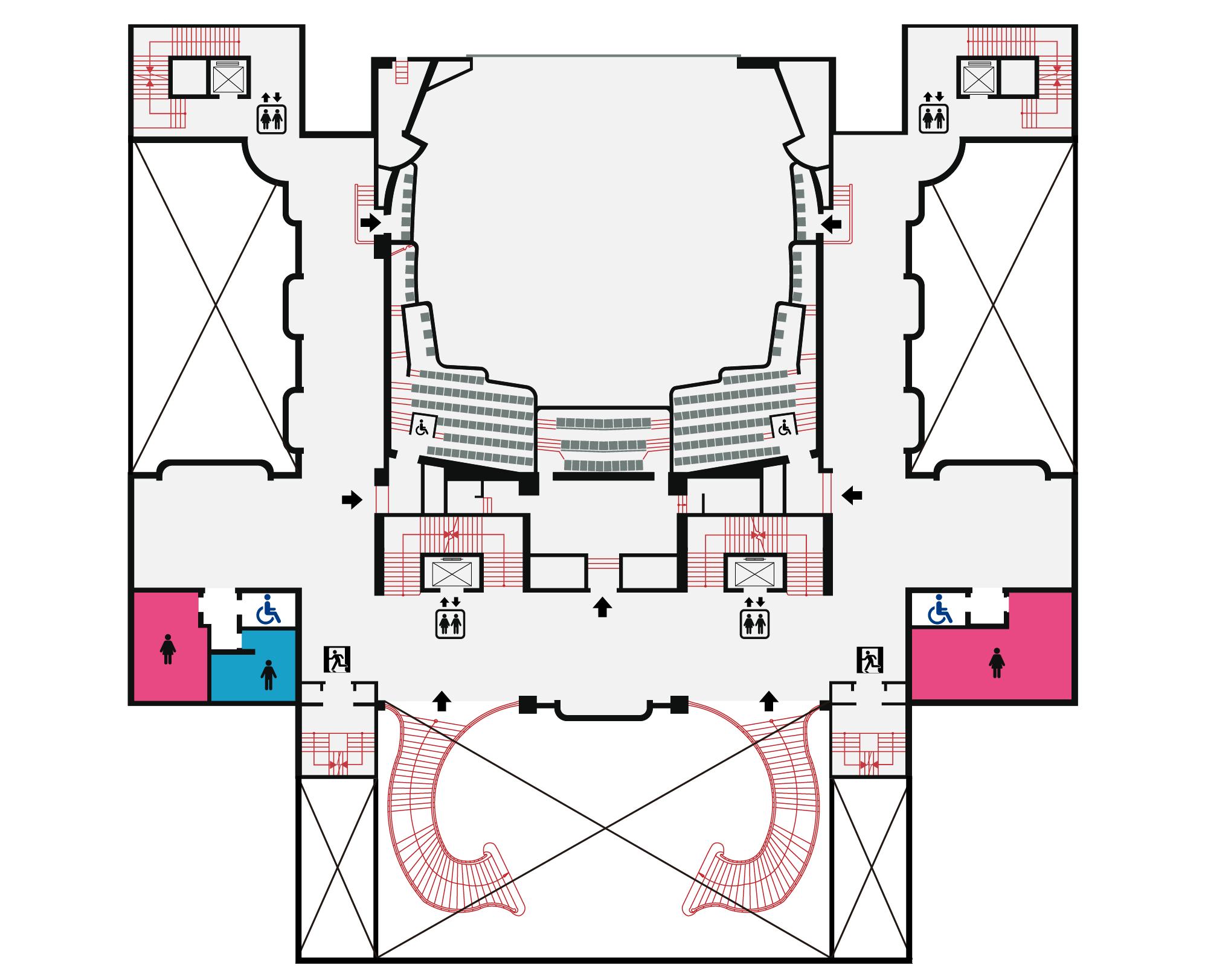 國家戲劇院2F平面圖,口述影像敬請期待
