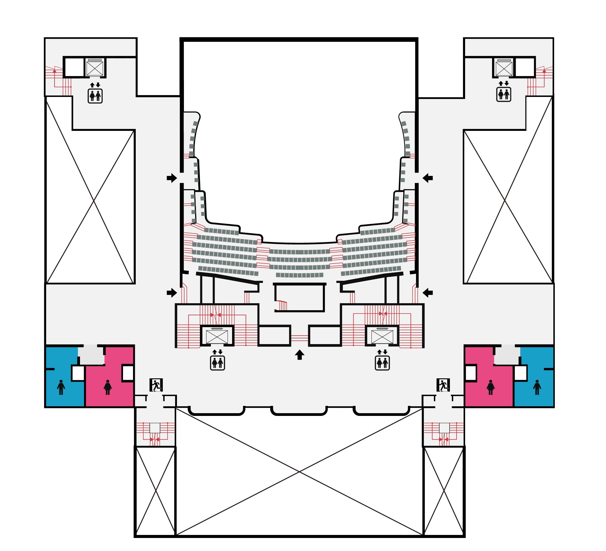 國家戲劇院3F平面圖,口述影像敬請期待