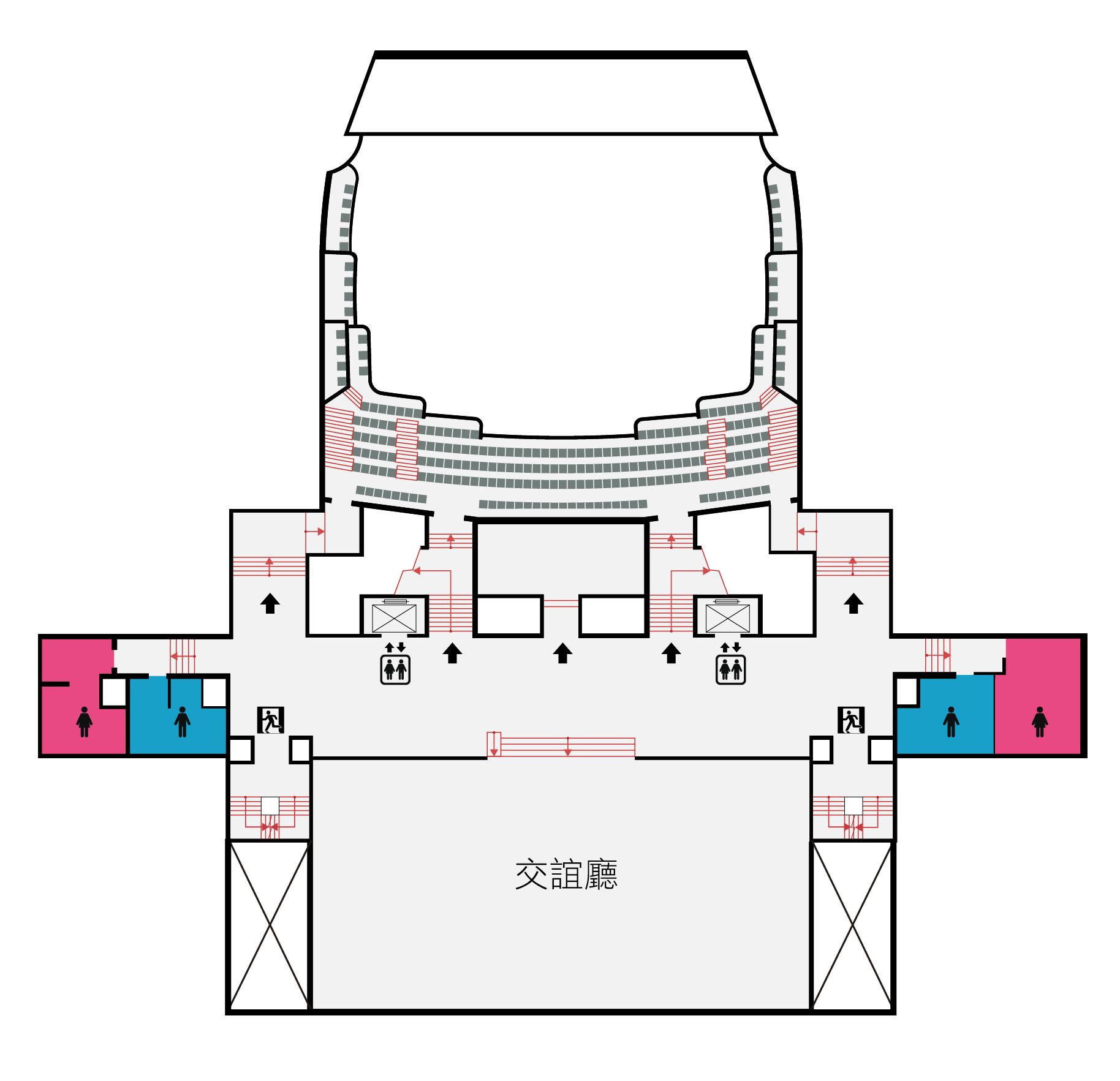 國家戲劇院4F平面圖,口述影像敬請期待