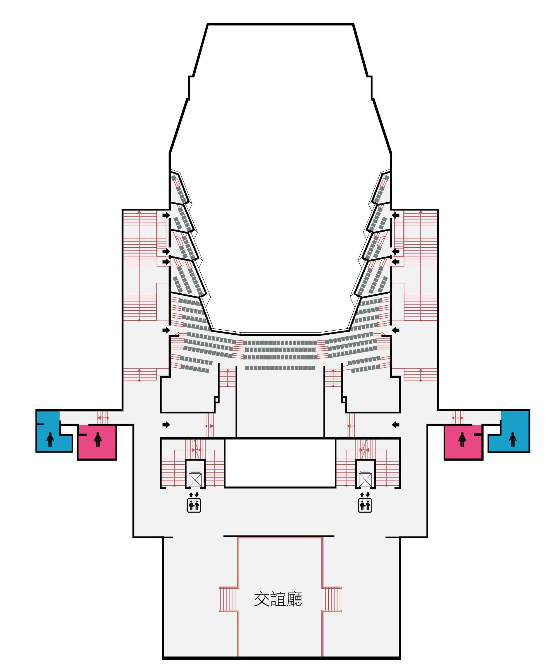 國家音樂廳4F平面圖,口述影像敬請期待