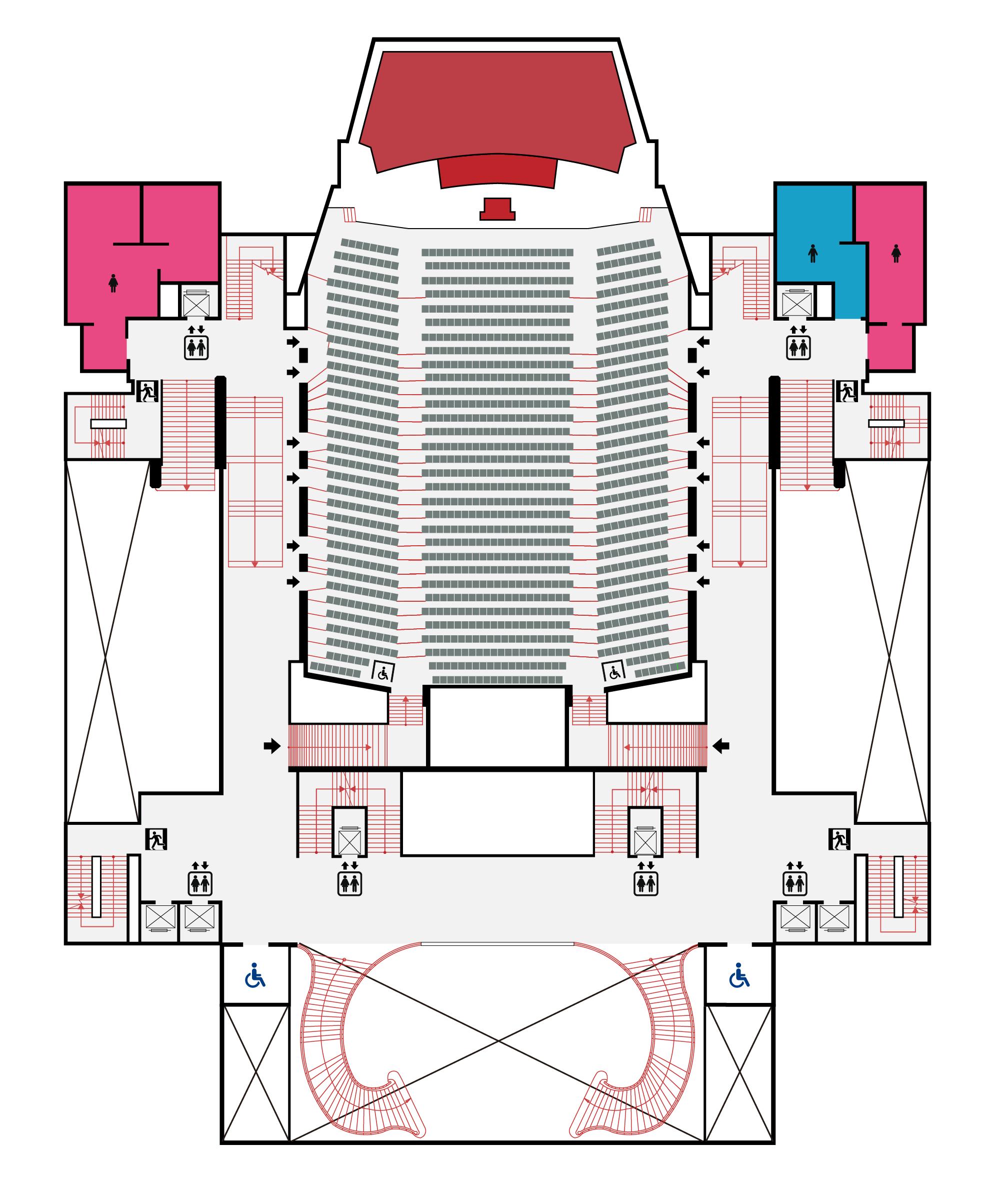 國家音樂廳2F平面圖,口述影像敬請期待