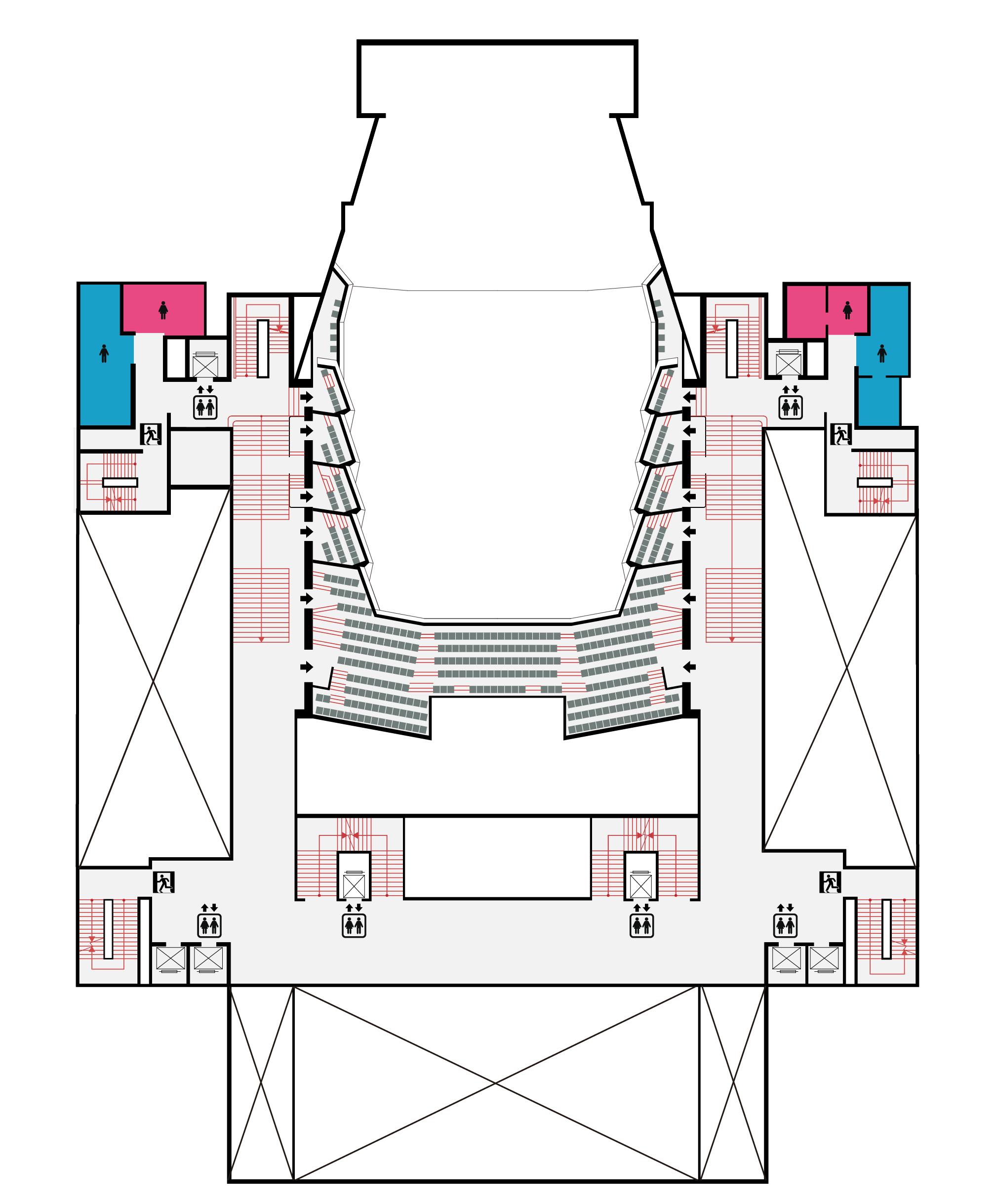 國家音樂廳3F平面圖,口述影像敬請期待
